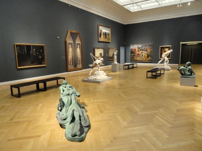 Opere d'arte al Statens Museum for Kunst