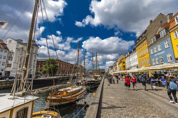 itinerario 1° giorno a Copenaghen