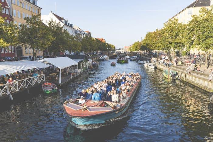 Tour nei canali Copenaghen