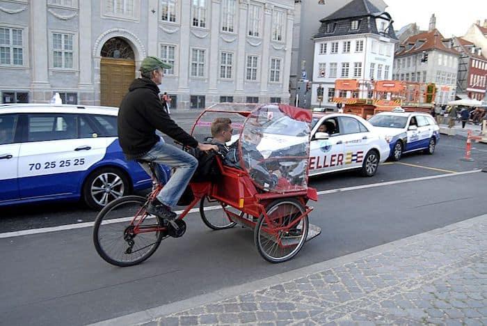 Cargo bike taxi