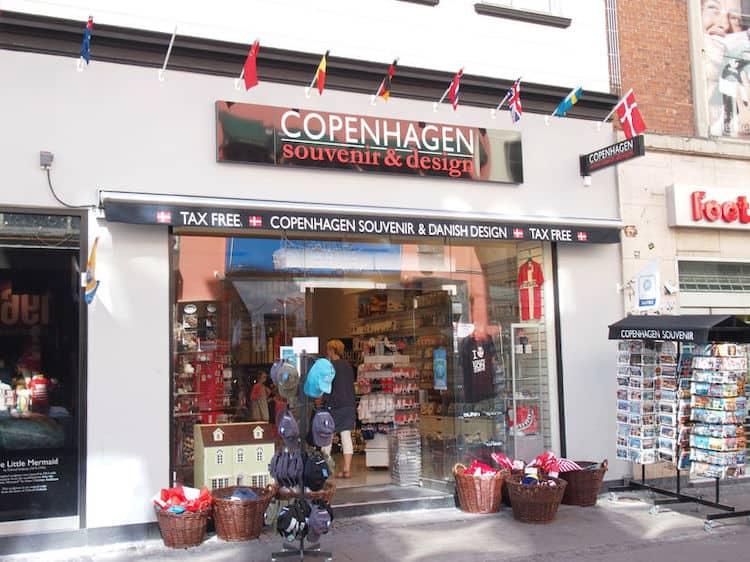 Negozi di Souvenir a Copenaghen