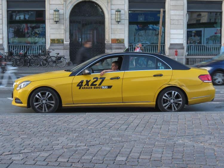 Taxi di Copenaghen